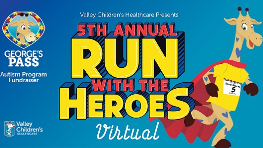 Fifth Annual Run with the Heroes Goes Virtual
