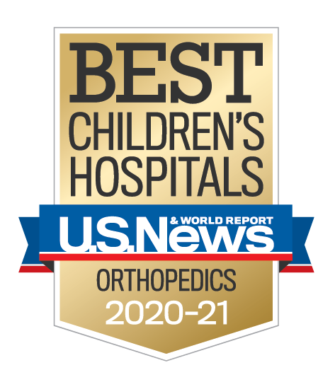 U.S. News & World Report Best Children's Hospitals 2020-2021 Orthopedics